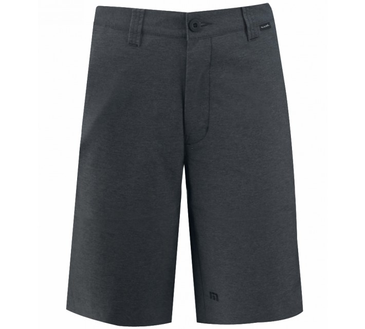 TRAVISMATHEW GOLF SHORTS HEFNER DARK GREY - AW16