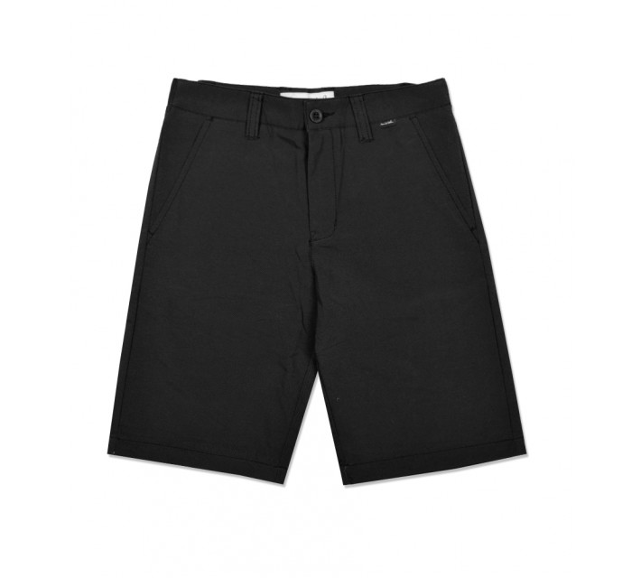 TRAVISMATHEW JUNIOR BOYS J-HEF FLEX SHORT BLACK - SS16