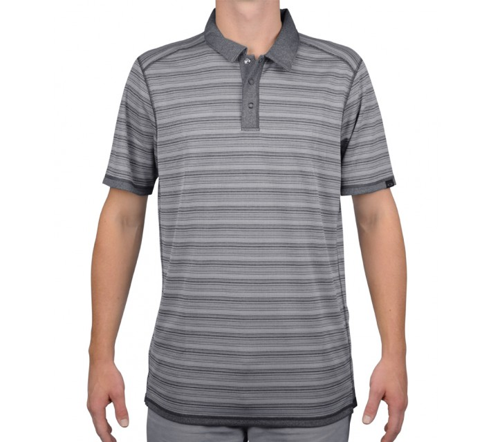 OAKLEY HIGHLAND REVERSIBLE GOLF POLO 2.0 GRAPHITE - AW15