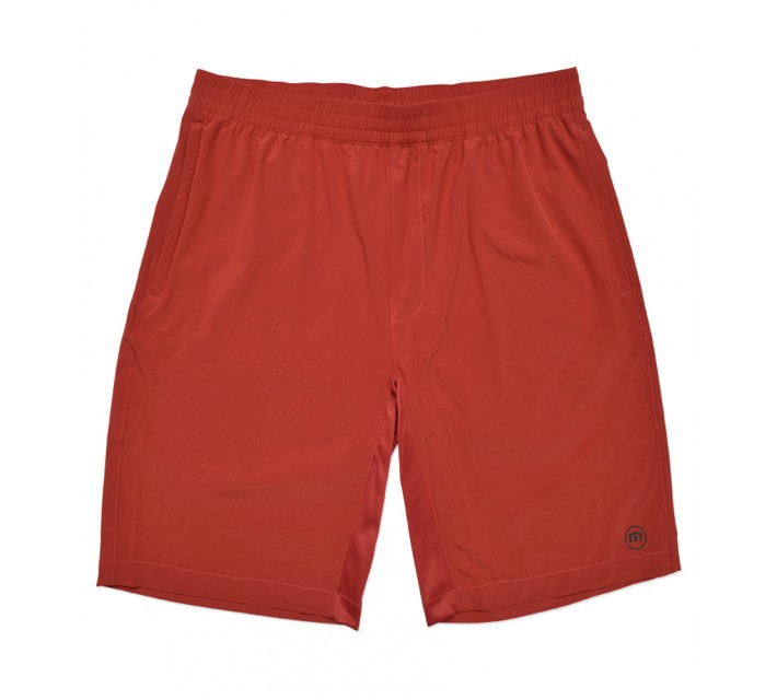 TRAVISMATHEW RED HOFFMAN SHORTS POMPEIAN RED - SS16