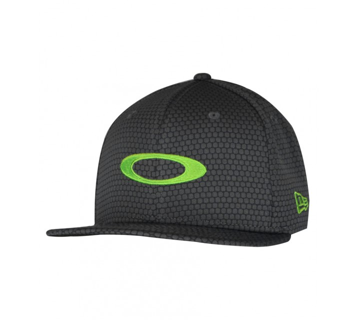 OAKLEY HONEYCOMB 2.0 HAT LIME GREEN - AW15