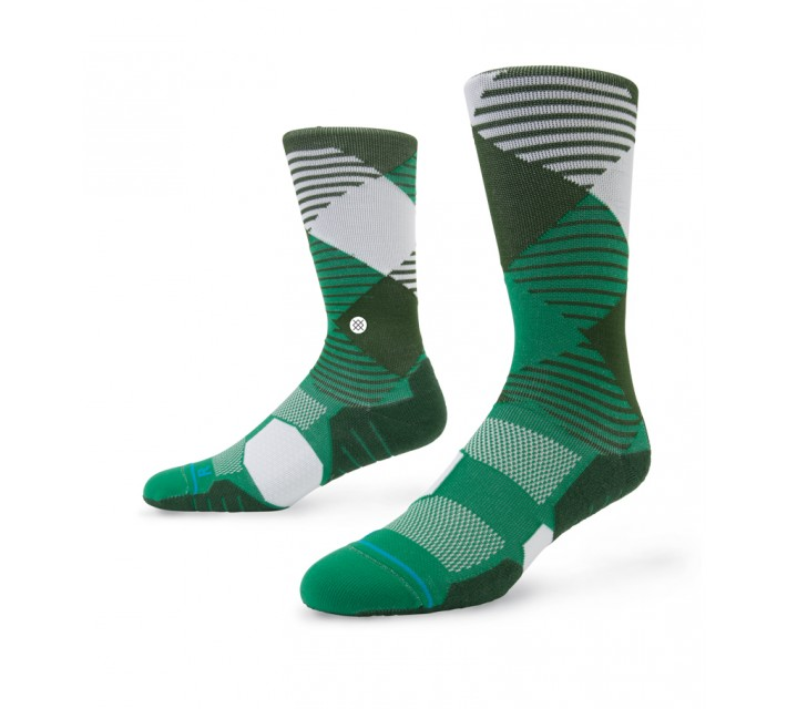 STANCE GOLF SOCKS HOOK GREEN - AW15