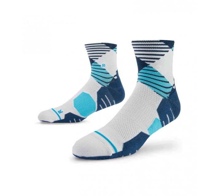 STANCE GOLF SOCKS HOOK QUARTER BLUE - AW15