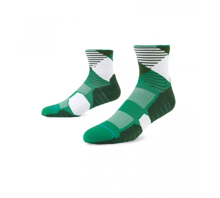 STANCE GOLF SOCKS HOOK QUARTER GREEN - AW15