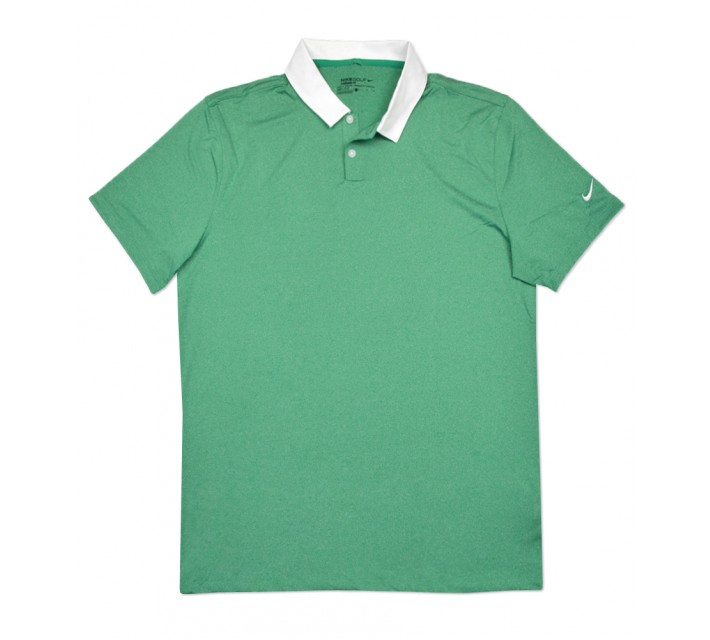 NIKE ICON HEATHER POLO LUCID GREEN - SS16 CLOSEOUT