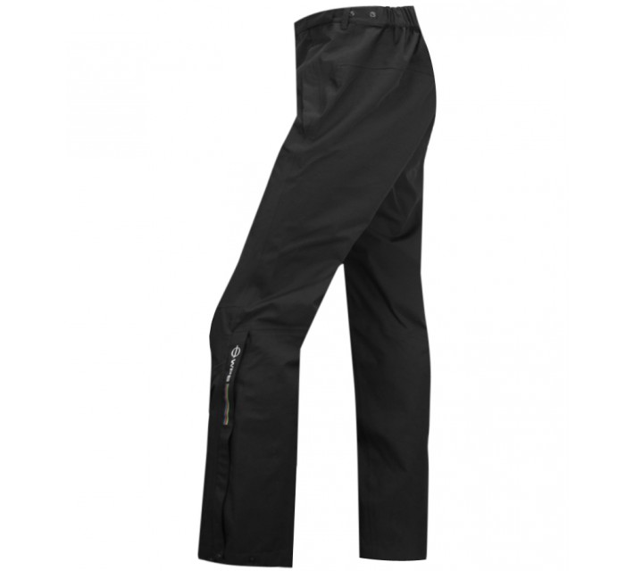 OSCAR JACOBSON WATERPROOF MICKEY TROUSERS BLACK - SS16