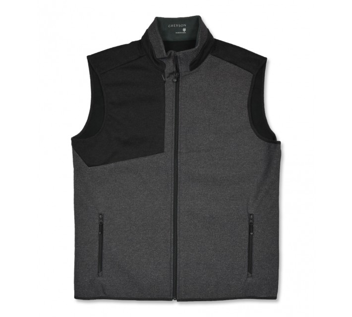 GREYSON IROQUOIS VEST TWEED/BLACK - AW16