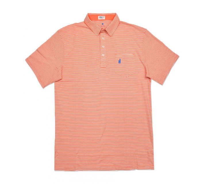 JOHNNIE-O JACK POLO CORAL REEF - SS16