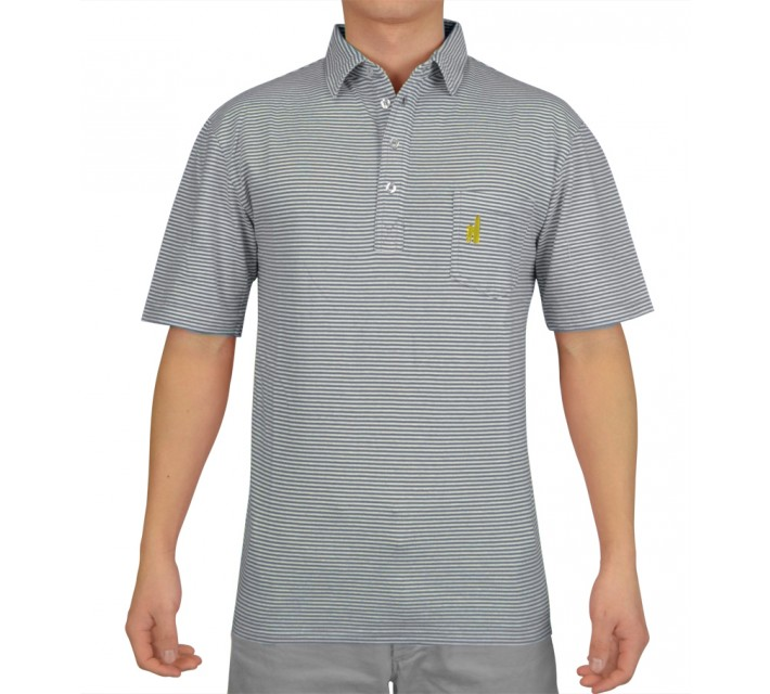 JOHNNIE-O JACK COTTON POLO PACIFIC - SS16