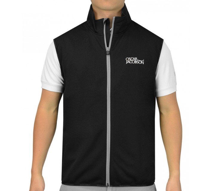 OSCAR JACOBSON JOE GILLET TOUR VEST BLACK - SS16