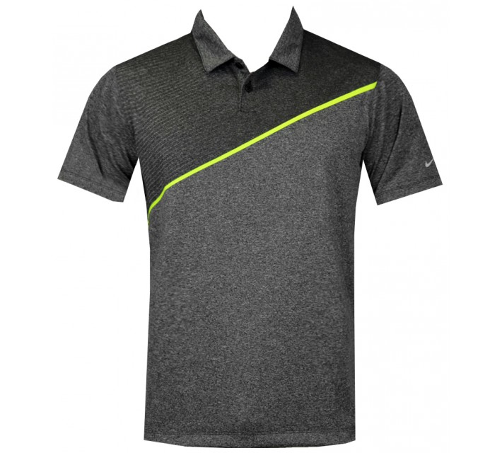 NIKE JUNIOR BOYS MOMENTUM 26 POLO BLACK - AW15 CLOSEOUT