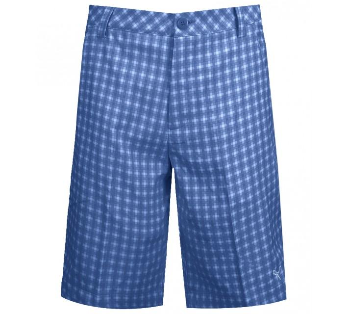 PUMA JUNIOR BOYS NOVELTY SHORT STRONG BLUE - SS15