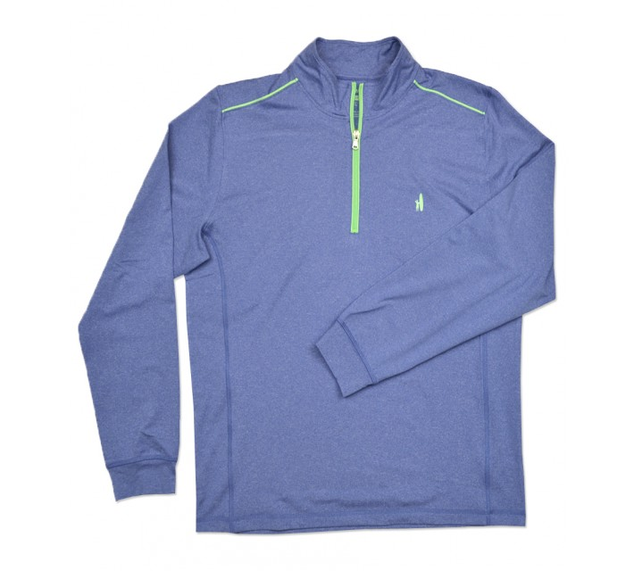 JOHNNIE-O LAMMIE 1/4 ZIP PULLOVER RIPTIDE - SS16