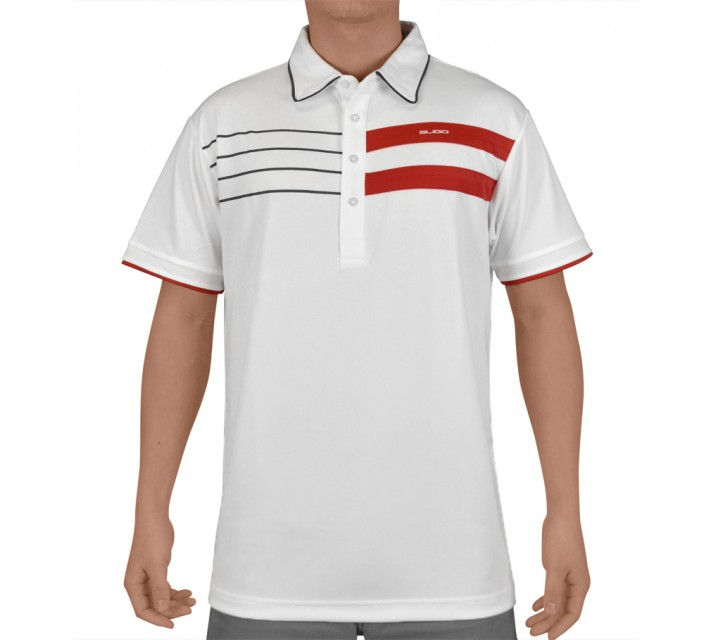 SLIGO GOLF SHIRT LANDON WHITE - SS15