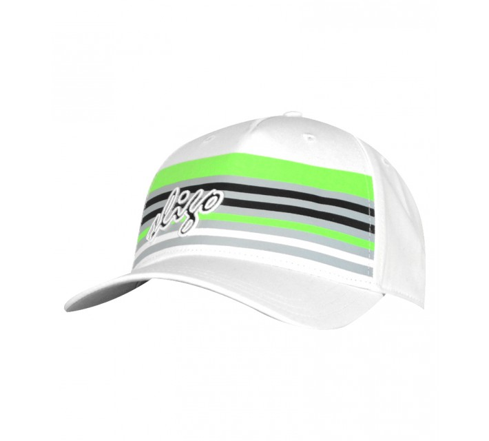 SLIGO GOLF LESTER SNAPBACK HAT WHITE - SS15