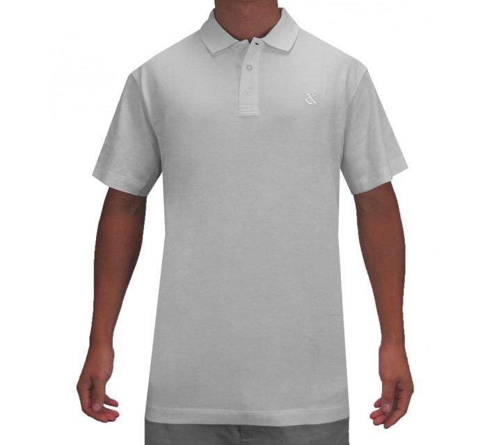 DEVEREUX LINDLEY GOLF POLO STEEL - SS16