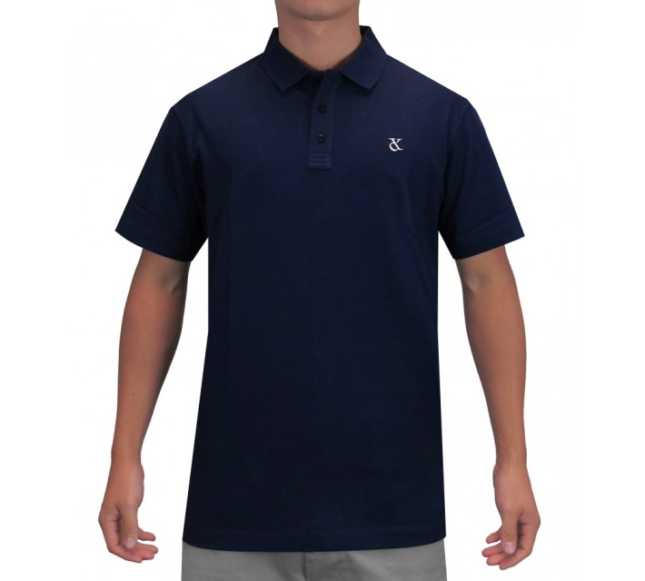 DEVEREUX LINDLEY GOLF POLO NAVY - SS16