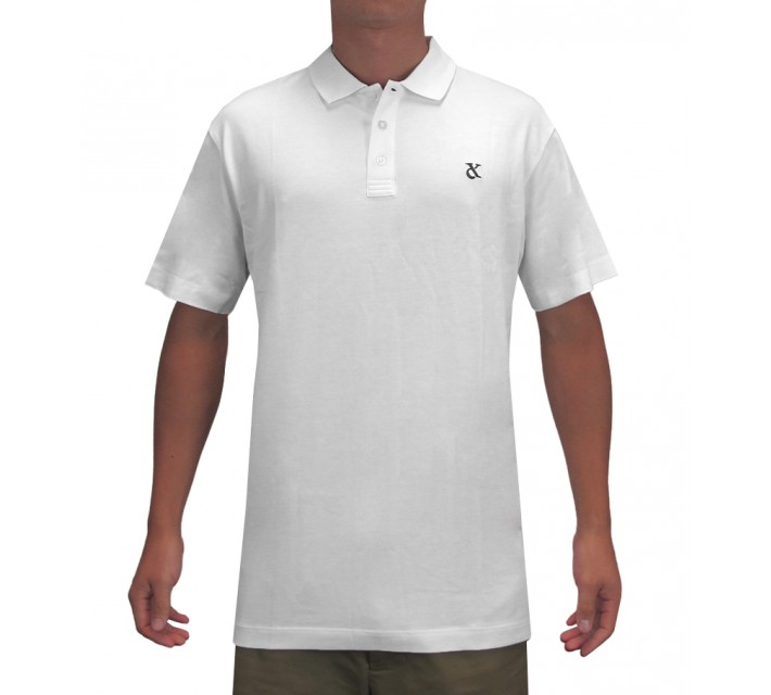 DEVEREUX LINDLEY GOLF POLO WHITE - SS16