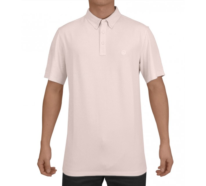 AG GREEN LABEL THE LINKS POLO PINK CHALK - SS15
