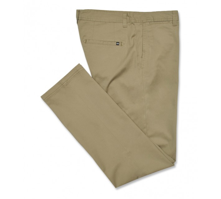 TRAVISMATHEW GOLF PANTS LIVINGSTON KHAKI - AW16