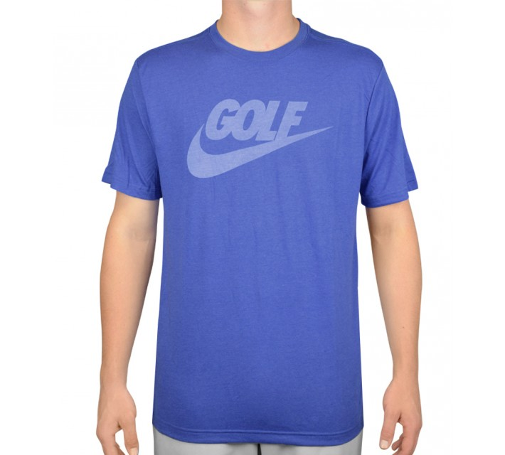 NIKE GOLF O LOCKUP TEE GAME ROYAL - AW15 CLOSEOUT