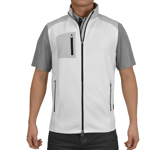 AG GREEN LABEL THE LOFT SPORT VEST BRIGHT WHITE - SS15