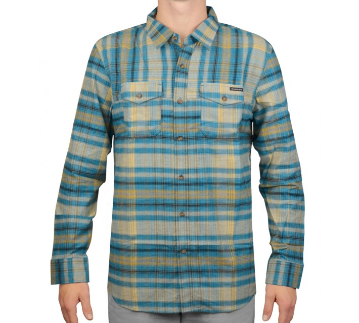 OAKLEY LOGISTIC WOVEN SHIRT AURORA BLUE - AW15