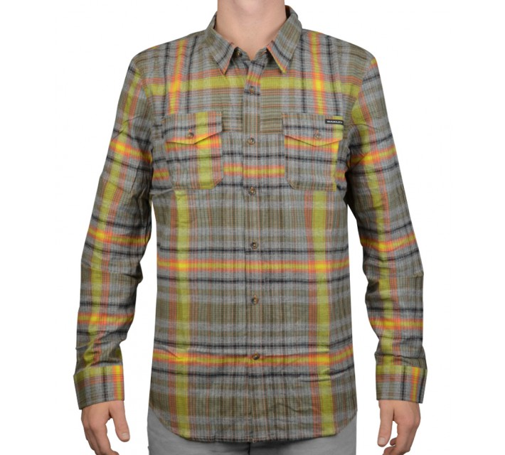 OAKLEY LOGISTIC WOVEN SHIRT FLARE ORANGE - AW15