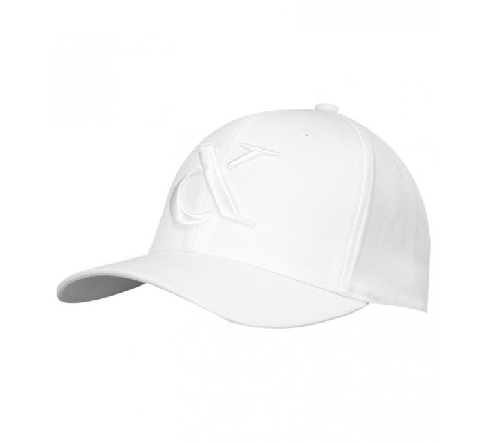 DEVEREUX LOGO HAT WHITE - SS16