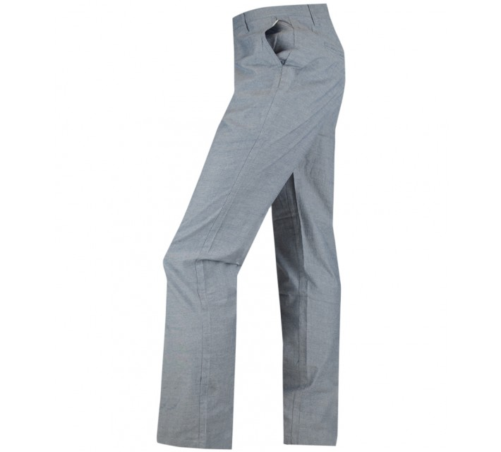 LINKSOUL COTTON CHAMBRAY PANT VINTAGE NAVY - AW15
