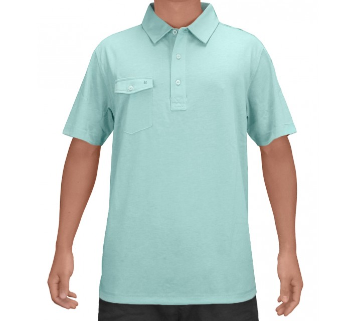 LINKSOUL INNOSOFT COTTON JERSEY AQUA - SS16