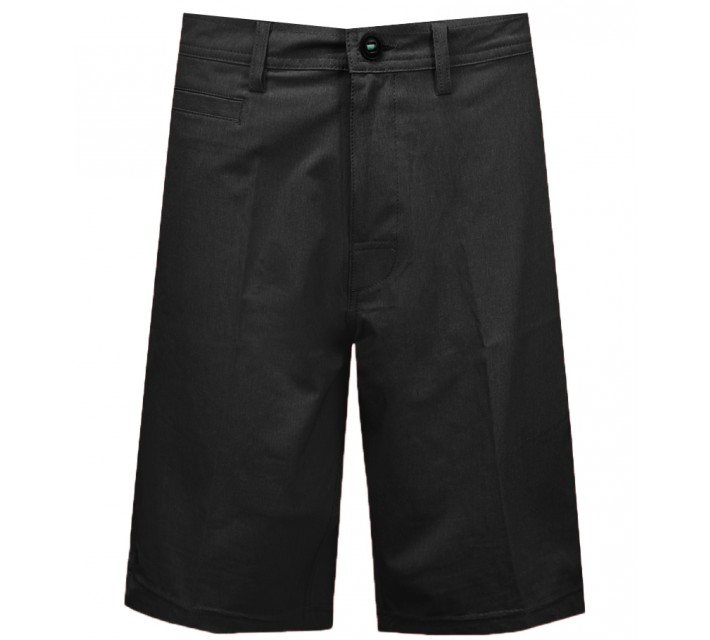 LINKSOUL 4 WAY STRETCH BOARDWALKER SHORT BLACK - AW15