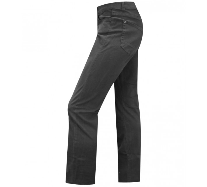 LINKSOUL COTTON/SPANDEX TWILL PANT CHARCOAL - SS15