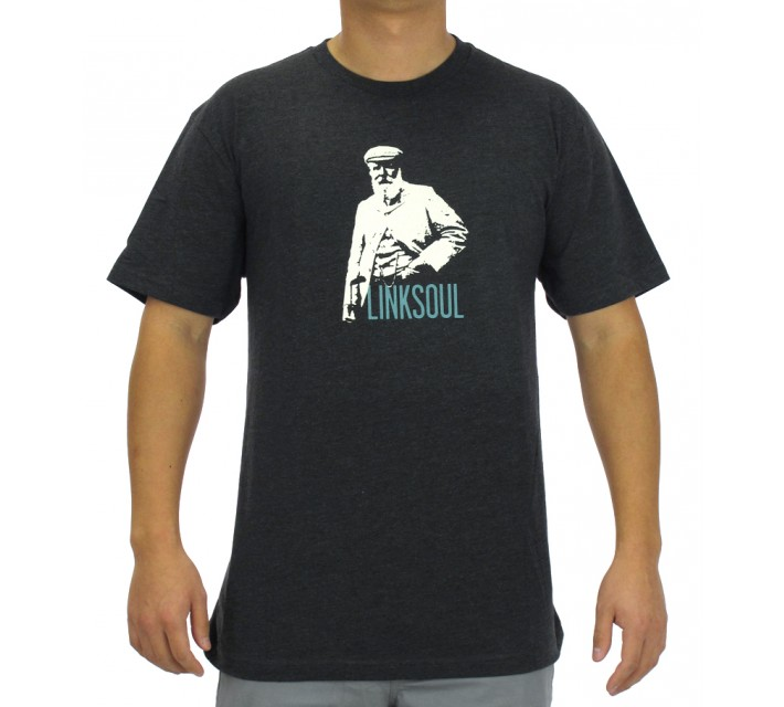 LINKSOUL T-SHIRT THE O.G. CHARCOAL - AW15