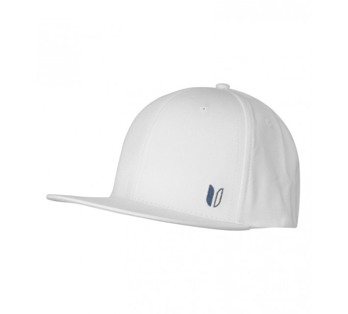 LINKSOUL CHINO TWILL STRUCTURED FLAT BILL HAT WHITE - SS15
