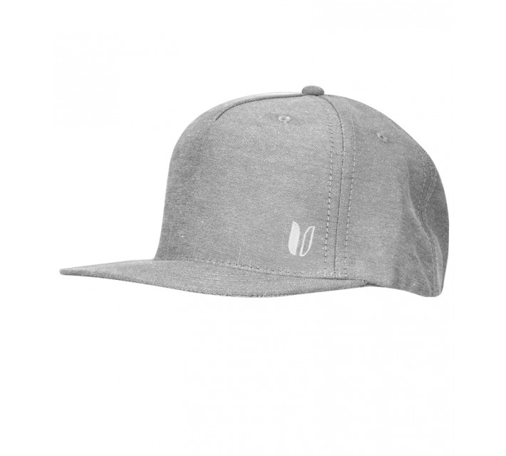 LINKSOUL STRUCTURED FLAT BILL GREY- CORE