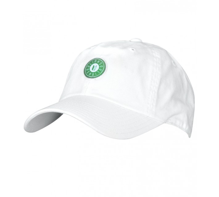 LINKSOUL CHINO STRUCTURED TWILL HAT WHITE - CORE