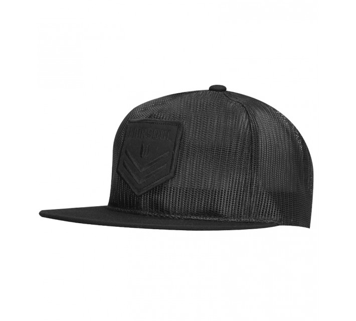 LINKSOUL ALL MESH TRUCKER HAT BLACK - SS16