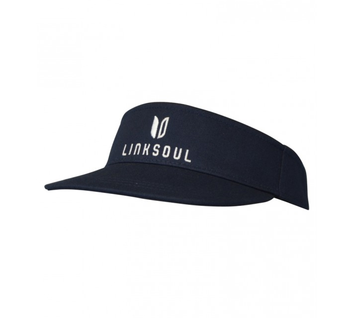LINKSOUL CHINO TWILL VISOR MIDNIGHT NAVY - AW16