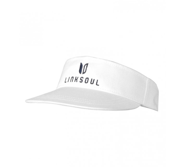 LINKSOUL CHINO TWILL VISOR WHITE - SS16