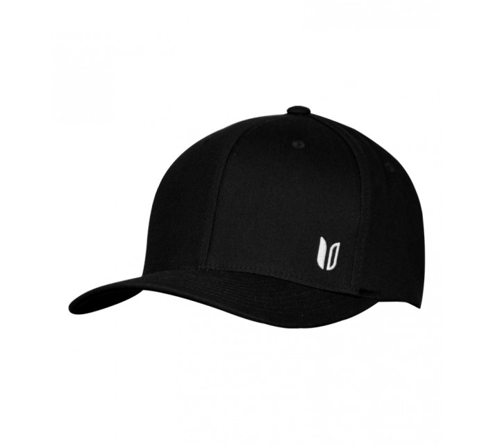 LINKSOUL STRUCTURED CURVED BILL HAT BLACK - AW15