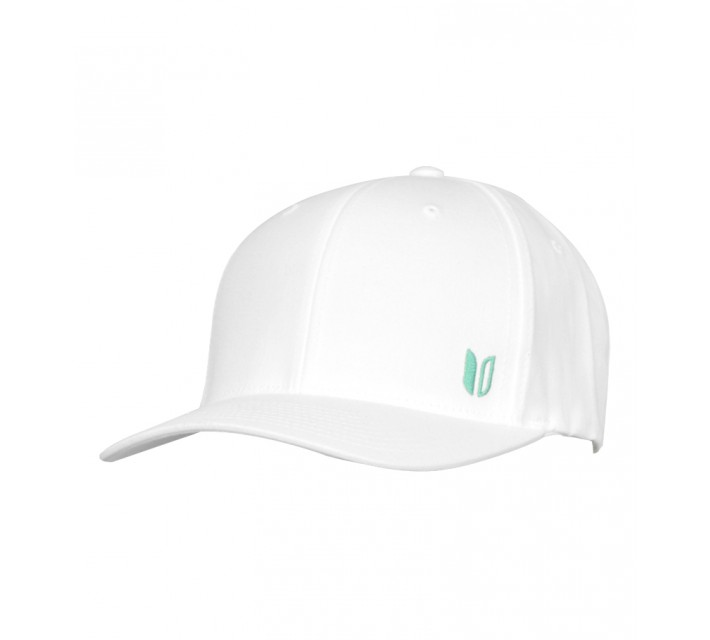 LINKSOUL STRUCTURED CURVED BILL HAT WHITE - AW15