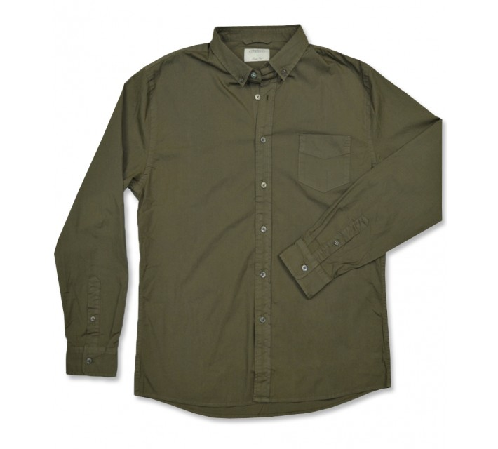LINKSOUL LS BUTTON DOWN SHIRT ARMY - AW16