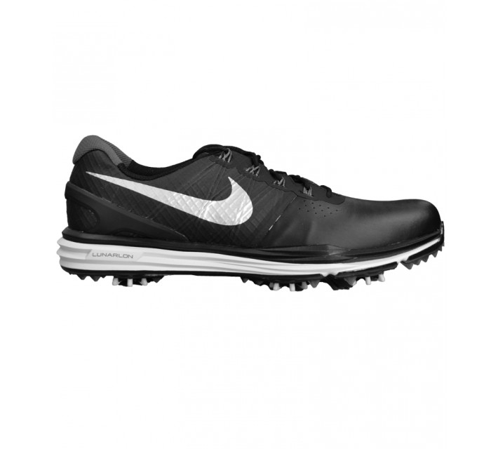 NIKE LUNAR CONTROL 3 GOLF SHOE BLACK - AW15 CLOSEOUT