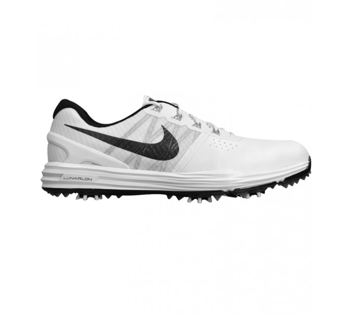 NIKE LUNAR CONTROL 3 GOLF SHOE WHITE/PURE PLATINUM - AW15 CLOSEOUT