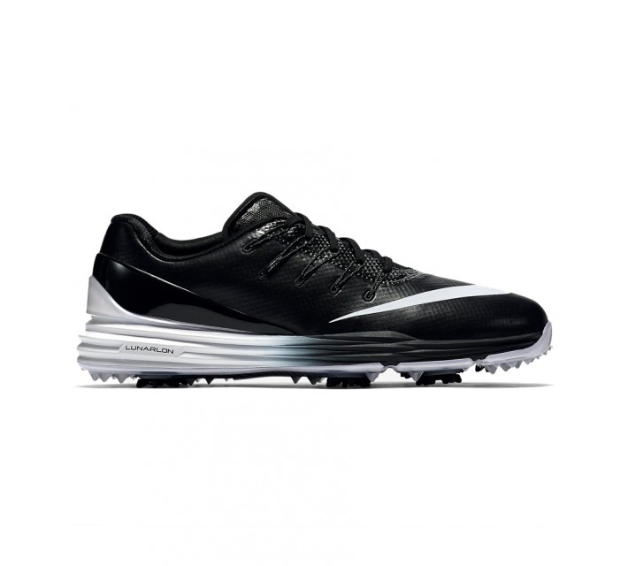 NIKE LUNAR CONTROL 4 GOLF SHOE BLACK - AW16 CLOSEOUT