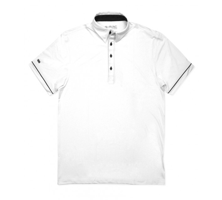 G-MAC MALONE POLO WHITE - AW16