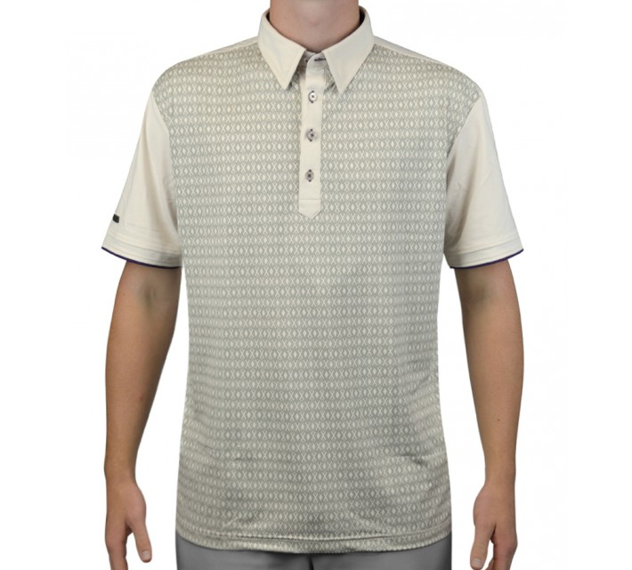 G-MAC MCBARRA GOLF POLO BIRCH/IMPERIAL - AW15