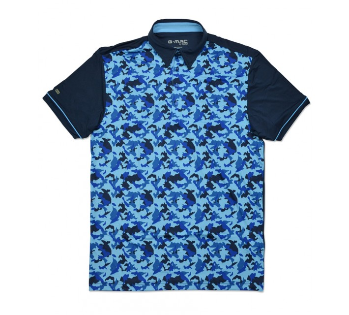 G-MAC MCCAMO POLO NAVY - SS16
