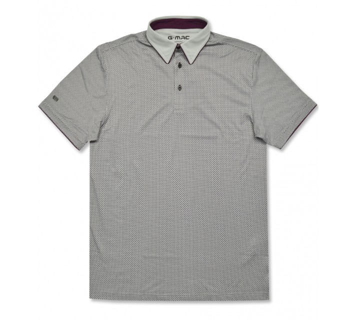 G-MAC MCCROSS POLO BLUE FOX/MAUVE WINE - AW16